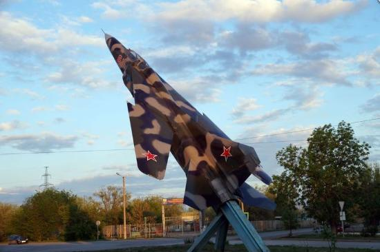 Airplane MIG-23