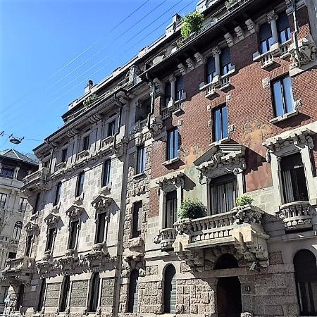 Milano le case berri meregalli di via barozzi e via for Case a milano