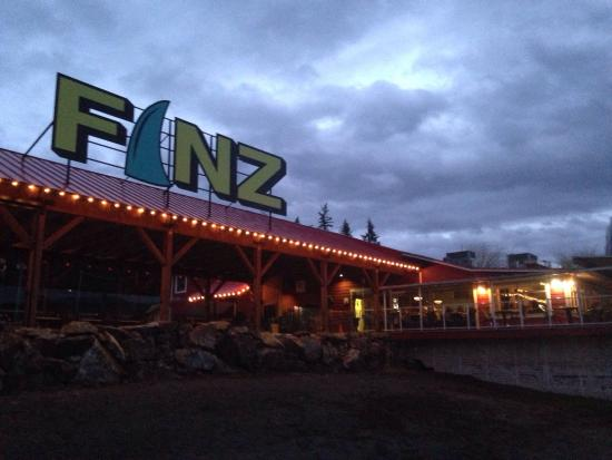 Blind Bay, Kanada: Finz Bar and Grill
