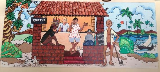 Anjuna, India: Goan Taverna