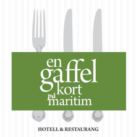 Simrishamn, Suécia: en gaffel kort
