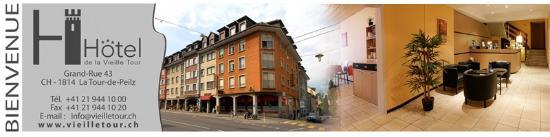 La Tour-de-Peilz, Schweiz: Hôtel de la Vieille Tour