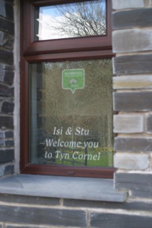 Frongoch, UK: Welcome to Tyn Cornel!
