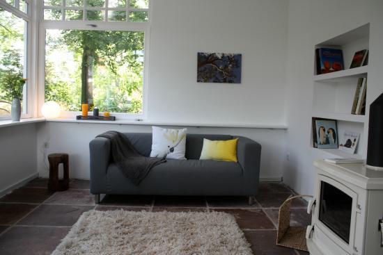 wintergarten mit kamin bild von altes dichterhaus gro efehn tripadvisor. Black Bedroom Furniture Sets. Home Design Ideas