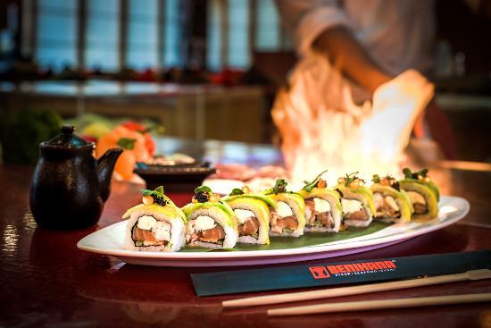 spectacular sushi buffet review of benihana abu dhabi united rh en tripadvisor com hk