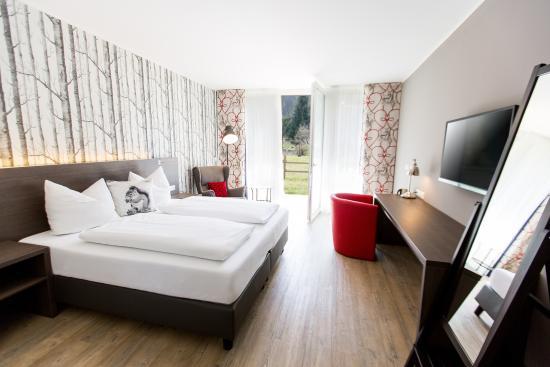 Arnoldstein, Austria: Deluxe Zimmer Gartenvilla mit Gartenzugang