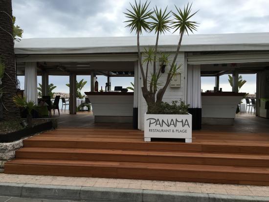 panama plage menton restaurant avis num ro de t l phone photos tripadvisor. Black Bedroom Furniture Sets. Home Design Ideas