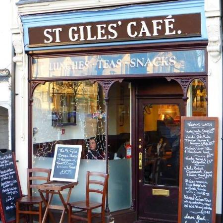 St Giles' Cafe: Front