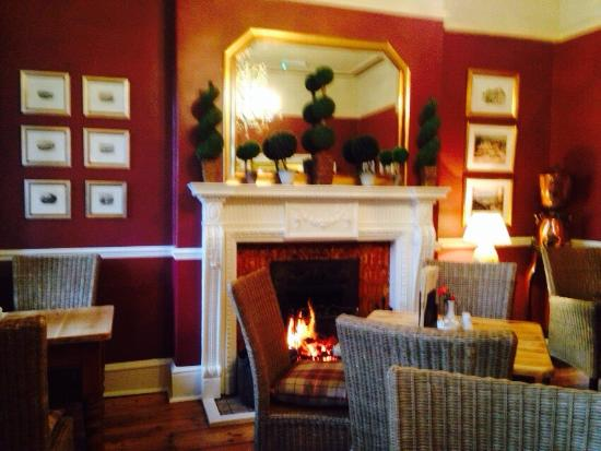 No.6 the Square: Cosy corner for afternoon tea