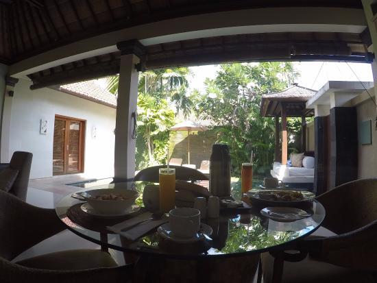 Disini Luxury Spa Villas: in-room breakfast