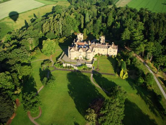 Virgin Balloon Flights - Ludlow, Stokesay Court