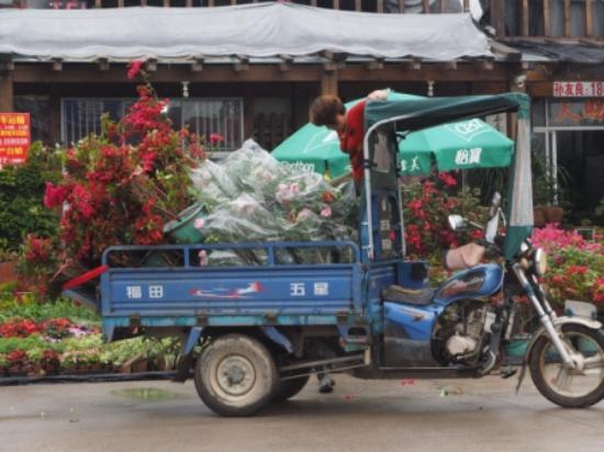 Longhai, China: truck