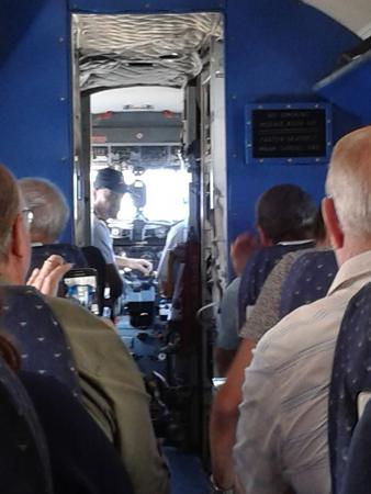 Germiston, Sudáfrica: From my seat to the cockpit
