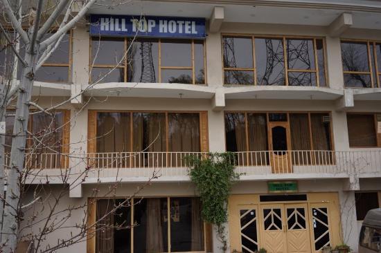 Hilltop Hotel Hunza: 外観