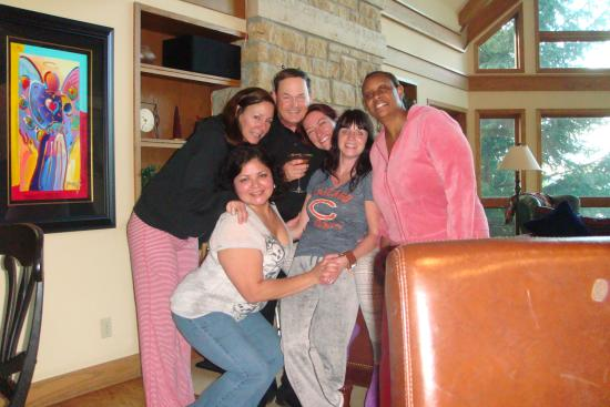Galena, IL: These ladies make massage part of their girls getaway weekend every year.