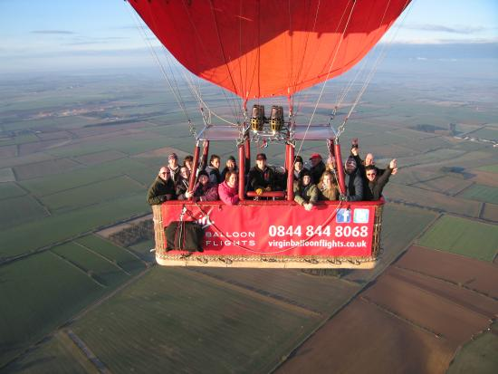 Virgin Balloon Flights - Rutland Water