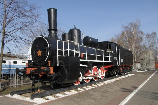 Locomotive-Monument to the 120th Anniversary of Locomotive Depot