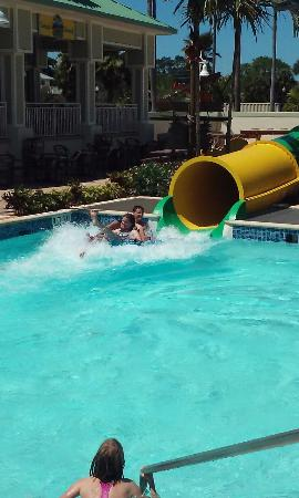 Splash Harbour Water Park: NOT a waterpark, it's a pool with 2 slides and a lazy river.
