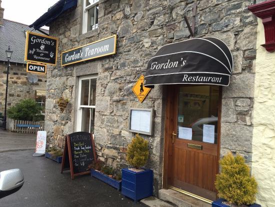 Gordon's Tearoom & restaurant: Façade