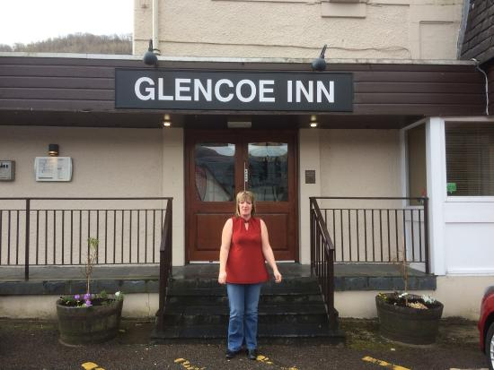 The Glencoe Inn: Myself and my wife