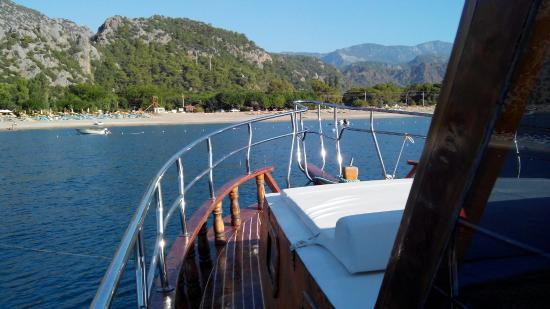 Cirali, Turkey: Cıralı Boat Tour Kaptan Mahmut