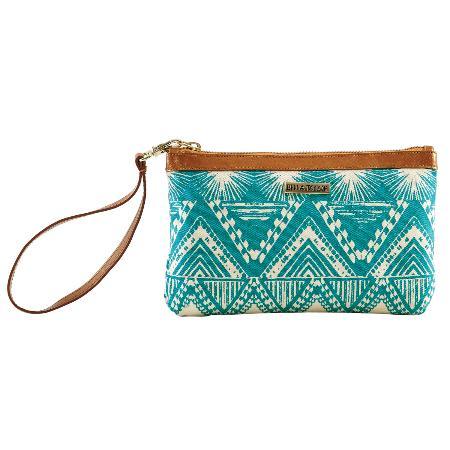 The Handbag Store: Tahiti Teal Canvas Collection
