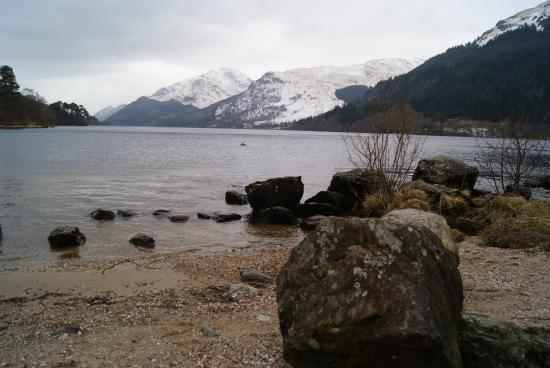 Argyll and Bute, UK: Loch Lomond in its winter glory
