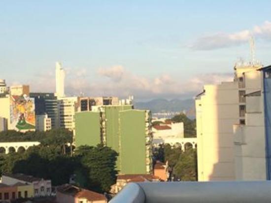 Arcos Rio Palace Hotel: vista para os arcos
