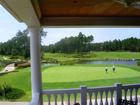Sunset Beach, Carolina del Norte: One view from Tiger's Eye Clubhouse back deck