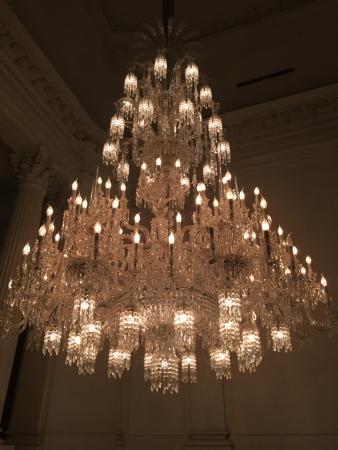 Cristal room baccarat lustre baccarat une merveille