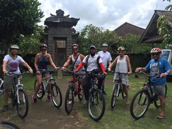 Celebrity Bike Tours Bali