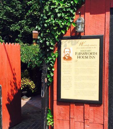 Farnsworth House Inn: History of the Inn