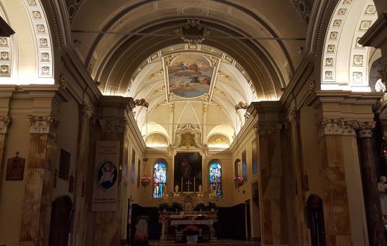 Vercurago, Taliansko: Interno del Santuario San Girolamo Emiliani