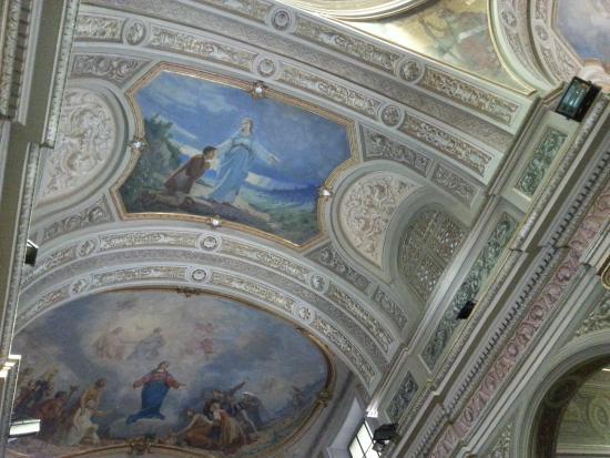 Fossano, Italien: Dipinto prima apparizione