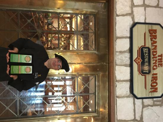 Y O Ranch Hotel & Conference Center : Chef Isaac Eckstein with 2015 & 2016 TripAdvisor Awards