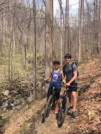 The Bike Farm: Beautiful Pisgah National Forest single-track!