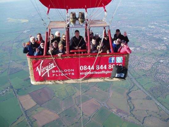 Virgin Balloon Flights - Worcester Racecourse