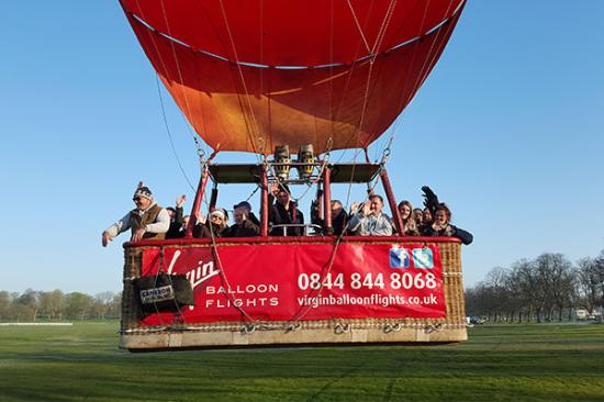 Virgin Balloon Flights - York Racecourse