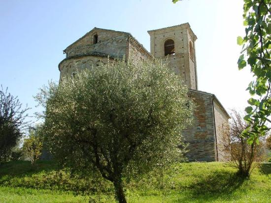 Ponzano di Fermo, Italien: Pieve fra gli ulivi
