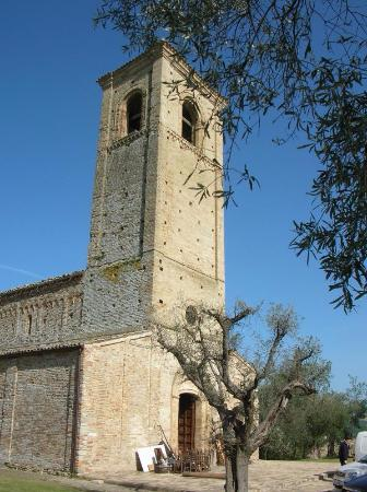 Ponzano di Fermo, Italia: Campanile (particolare)