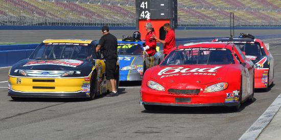 Rusty Wallace Racing Experience at Auto Club Speedway