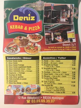 הונינגה, צרפת: Deniz Kebab