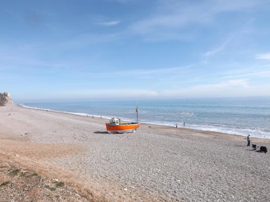 Branscombe, UK: beach