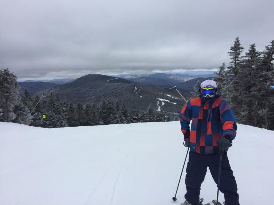Killington Resort: Enjoying the view from Killington Peak
