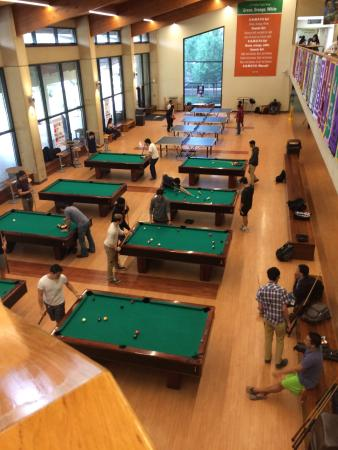 Superieur UT Dallas Dining.: Pool Tables Below