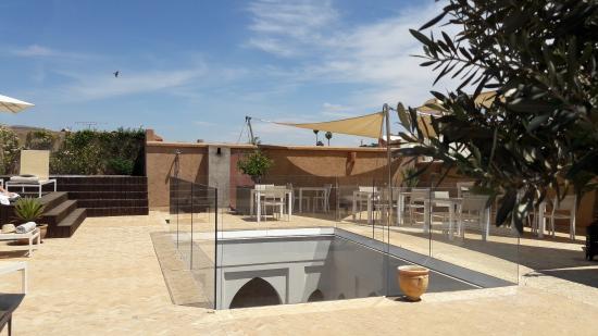 Riad Houma : Terrasse