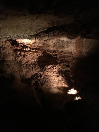 มานิโตสปริงส์, โคโลราโด: In the rarely seen areas of the caves