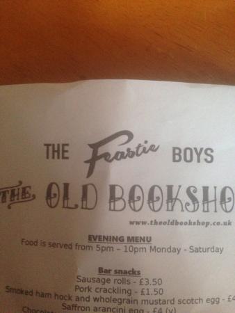 The Old Bookshop: photo0.jpg