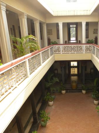 Kanadukathan, Hindistan: The cool lobby
