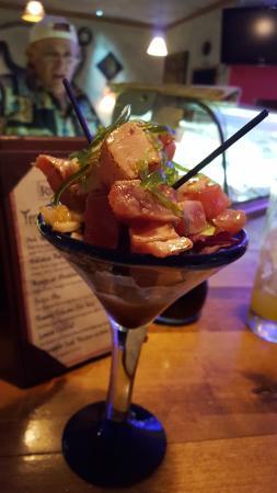 Carbondale, CO: Tuna poki appetizer.